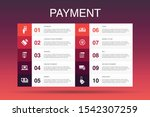 payment infographic 10 option...