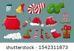 christmas icons set.... | Shutterstock .eps vector #1542311873