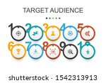 target audience infographic...