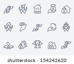 insurance  icons | Shutterstock .eps vector #154242620