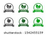 suitable for vegetarian icons.... | Shutterstock .eps vector #1542455159
