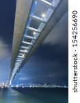 stonecutters bridge in hong kong | Shutterstock . vector #154256690