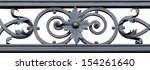 Section Of Decorative Black...