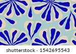 trendy contemporary floral... | Shutterstock .eps vector #1542695543