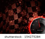 racing background with speed... | Shutterstock .eps vector #154275284