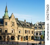 alesund  norway  center of... | Shutterstock . vector #154275620