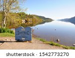 View Of Loch Ness From The Bank ...