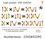 logical puzzle game with... | Shutterstock .eps vector #1542852290