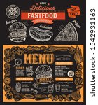burger menu template for... | Shutterstock .eps vector #1542931163