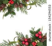 Christmas Floral Background...