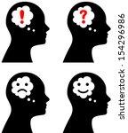Vector Illustration Of Head...