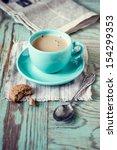 coffee | Shutterstock . vector #154299353