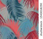 trendy seamless luxury tropical ...   Shutterstock .eps vector #1543018250