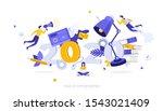 infographic banner template... | Shutterstock .eps vector #1543021409