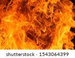 Blurred Illustration Of Burnin...