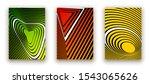 minimal cover design poster.... | Shutterstock .eps vector #1543065626