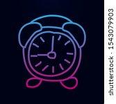 alarm clock sketch nolan icon....