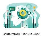 artificial intelligence...   Shutterstock .eps vector #1543153820