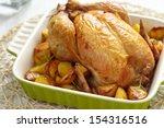 Roasted Chicken With Potatos