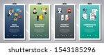 web banners concept in vector...   Shutterstock .eps vector #1543185296