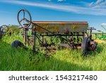 Vintage Farming Disc Harrow...