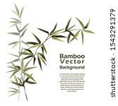 bamboo vector template with...   Shutterstock .eps vector #1543291379