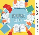 vector illustration of reading...   Shutterstock .eps vector #1543314920