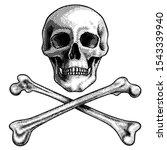Skull With Crossed Bones....