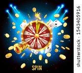 vector illustration spinning... | Shutterstock .eps vector #1543405916