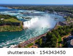 The View Of The Horseshoe Fall...