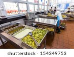 kitchen of a chinese restaurant | Shutterstock . vector #154349753