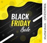 black friday sale template... | Shutterstock .eps vector #1543539806