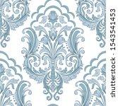 vector damask seamless pattern...