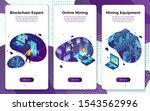 vector mobile illustration set  ...   Shutterstock .eps vector #1543562996
