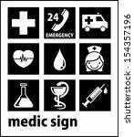 medic | Shutterstock .eps vector #154357196