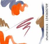 abstract contemporary... | Shutterstock .eps vector #1543600709