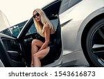 beautiful young woman in... | Shutterstock . vector #1543616873