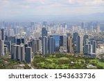 urban landscape with... | Shutterstock . vector #1543633736