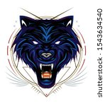 Blue Wolf  Wolves  Head Wolf...