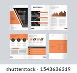 template layout design with...   Shutterstock .eps vector #1543636319