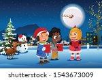 a vector illustration of... | Shutterstock .eps vector #1543673009