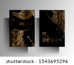 set of design templates for... | Shutterstock .eps vector #1543695296
