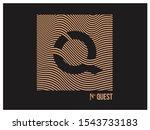illustration  poster  can be... | Shutterstock .eps vector #1543733183
