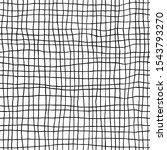 hand drawn checkered seamless... | Shutterstock .eps vector #1543793270