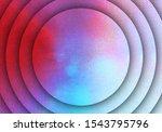 dark vintage concept rounded... | Shutterstock . vector #1543795796