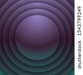 dark colored rounded circular... | Shutterstock . vector #1543799249