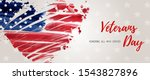 usa veterans day background.... | Shutterstock .eps vector #1543827896