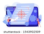 tiny people project managers... | Shutterstock .eps vector #1543902509