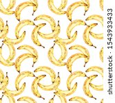 seamless watercolor pattern... | Shutterstock . vector #1543933433
