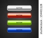 four vector web buttons. white... | Shutterstock .eps vector #154401128